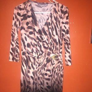 Jennifer Lopez wrap dress