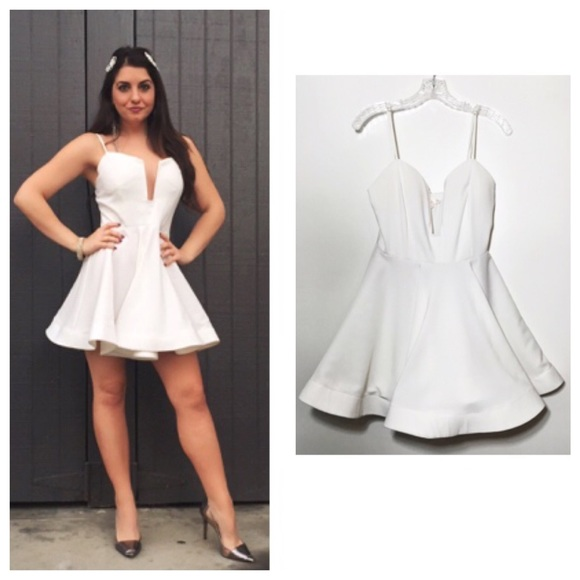 Luxell white dress