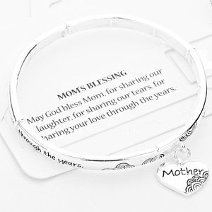 Jewelry - MOM'S Blessing Stretch Bracelet
