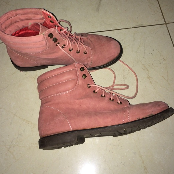 American Vintage Shoes - Pink boots