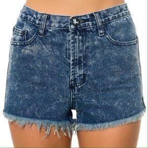 One Teaspoon Romeos Cutoff Shorts