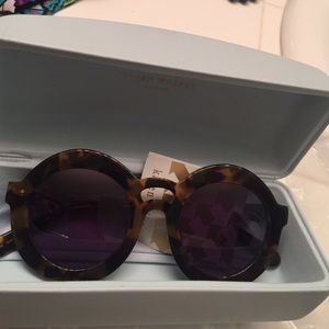 Karen Walker Accessories - New karen walker joyous tortoise women sunglasses