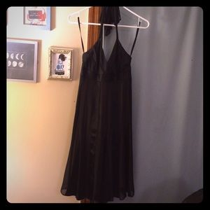BCBG formal black dress