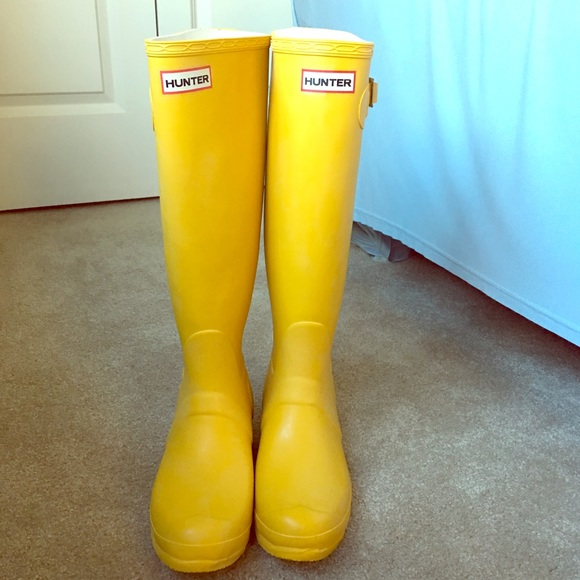 Tall Yellow Rain Boots Boots And Heels 2017