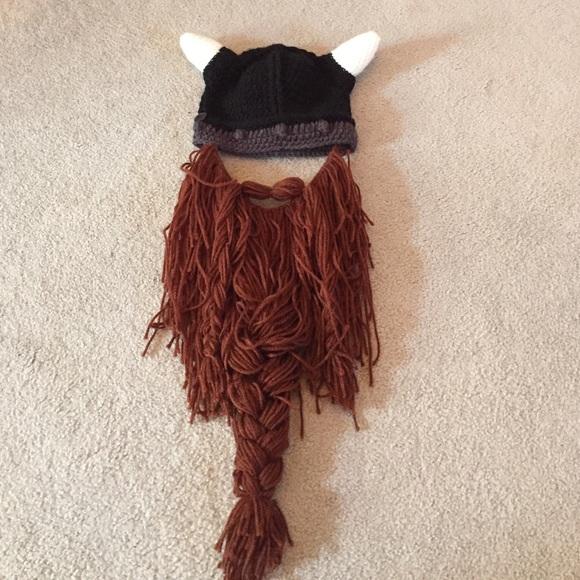 c81d82af65a Accessories - Viking beard toboggan hat!