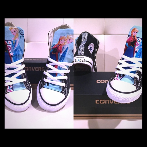 -Custom made to your liking & Converse Shoes | Frozen Frozen Frozen Custom Made To Your Liking ...