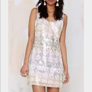 NWT Nasty gal sequin dress new with tags