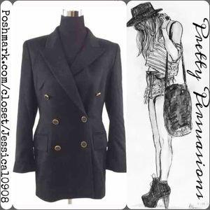 Escada Jackets & Blazers - ESCADA Cashmere Black Blazer Jacket