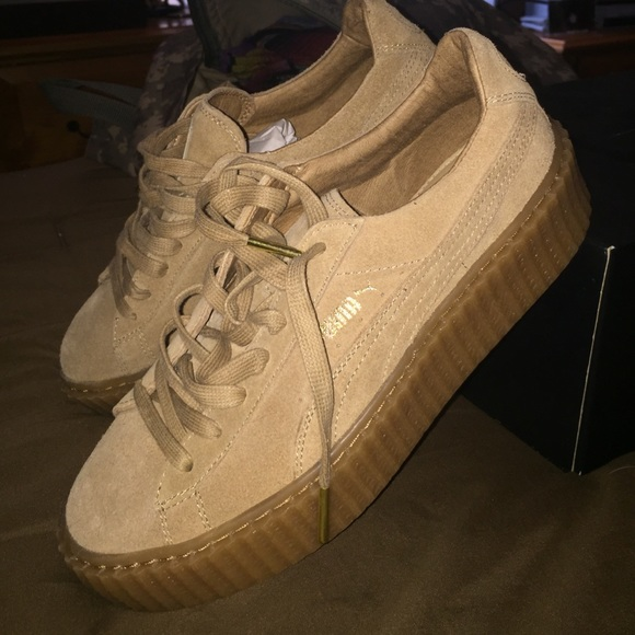 Puma - FENTY OATMEAL PUMA CREEPERS from Lee's closet on ...