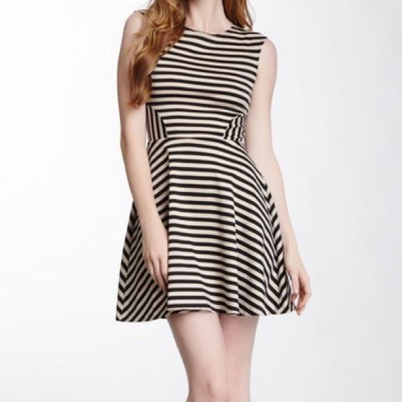 4059502dfd Love Ady Dresses   Skirts - Love ady striped ponte skater dress