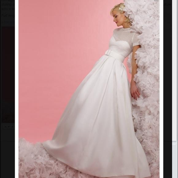 91 off steven birnbaum bridal dresses skirts wedding for Do dry cleaners steam wedding dresses