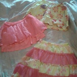 Dresses & Skirts - Little girl skirts x3