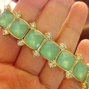 Gorgeous mint stones bracelet