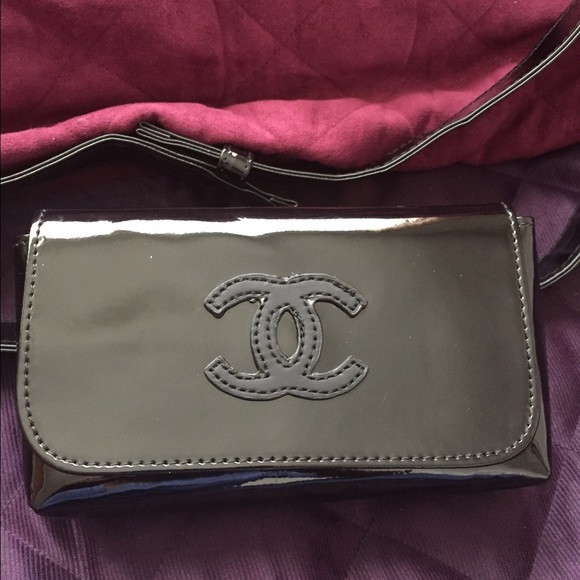 2a44570a0b68 CHANEL Handbags - Authentic Chanel black belt fanny pack