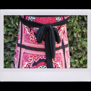 Poetry Dresses - Pink & Black Mandala Dress