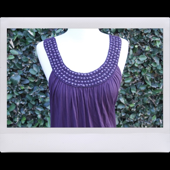 Forever 21 Dresses - Purple Beaded Dress