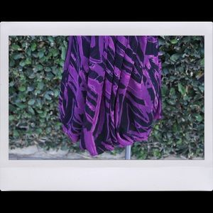 Forever 21 Dresses - Purple & Black Formal Dress
