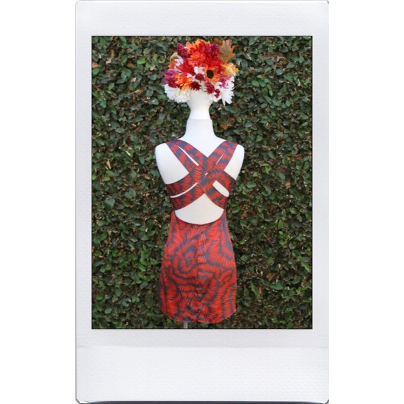 Lulu's Dresses - Funky Strap Mini Dress