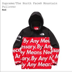 40bd42ec095a2 Supreme Let s Fuck Tee Supreme x The North Face Mountain Pullover ...