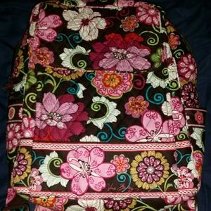 Vera Bradley mod floral pink ultimate backpack