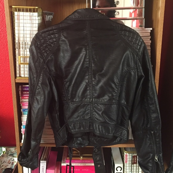 H&M Jackets & Coats - H&M faux leather jacket