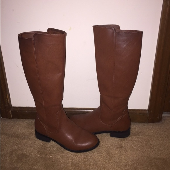 67 shoes simple brown boots from lisl s