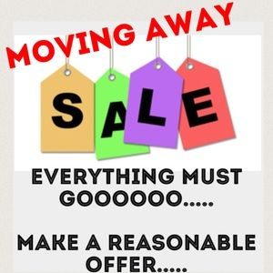 Everything MUST GO...