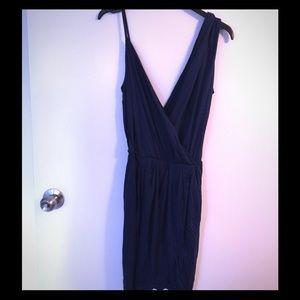 Rebecca Minkoff dark blue dress