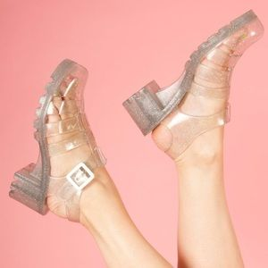 JuJu Shoes - Glitter Jelly Shoes