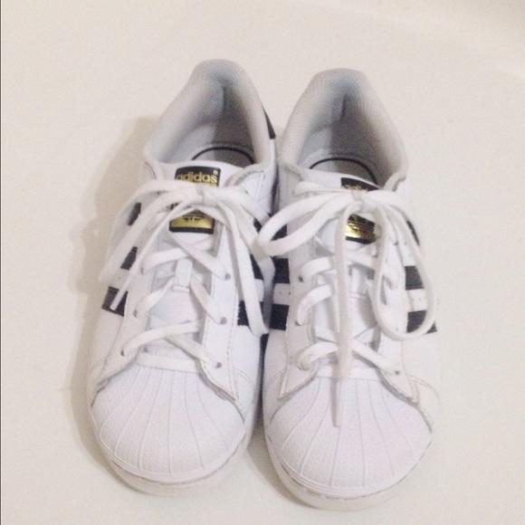 39cf41ef5a58 Adidas Shoes - ORIGINAL ADIDAS SUPERSTARS SLIGHTLY WORN!