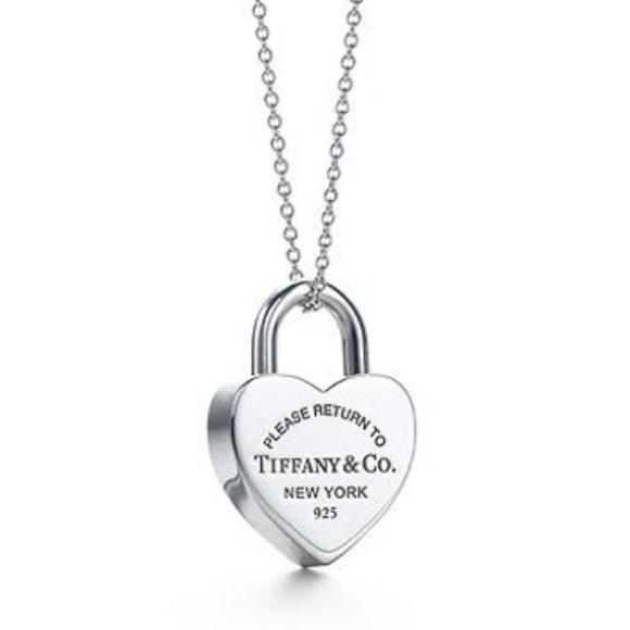 Tiffany co jewelry return to tiffany heart lock pendant poshmark return to tiffany heart lock pendant aloadofball Gallery