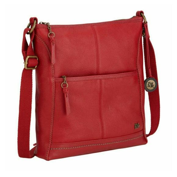 8c4ee7c099 ❤HOST PICK❤The Sak Iris red crossbody bag