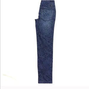 Jag Jeans Denim - NWOT Leopard print blue jeggings