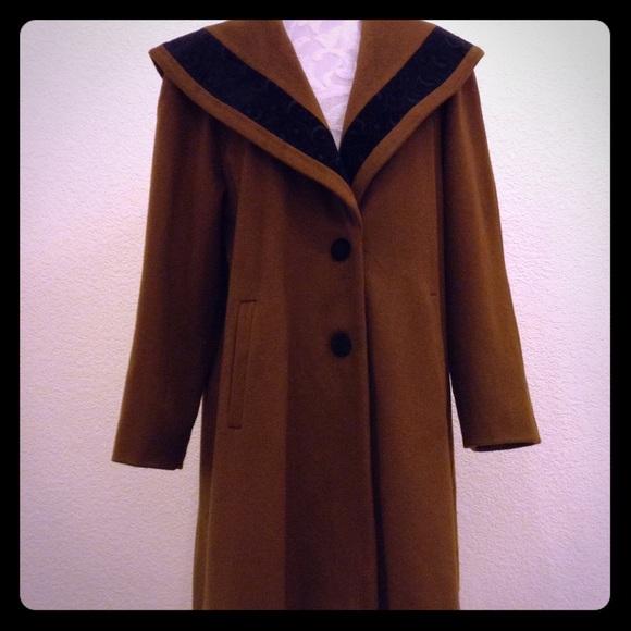8bea2c812a87 David Benjamin Jackets   Blazers - Vintage 80 s Designer Swing Coat