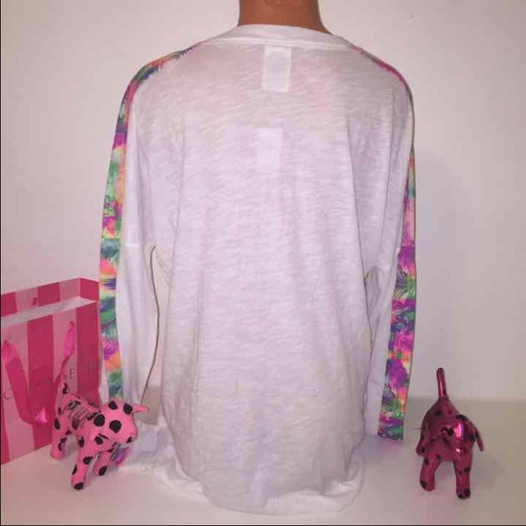 PINK Victoria's Secret - 🚫SOLD🚫NEW PINK VS LONG SLEEVE SHIRT ...