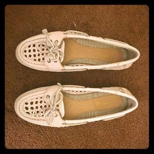Sperry Top-Sider Shoes - Off white colored sperries