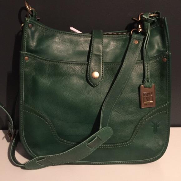 2e7dc7456 Frye Bags | Brand New Campus Crossbody Bag Olive | Poshmark