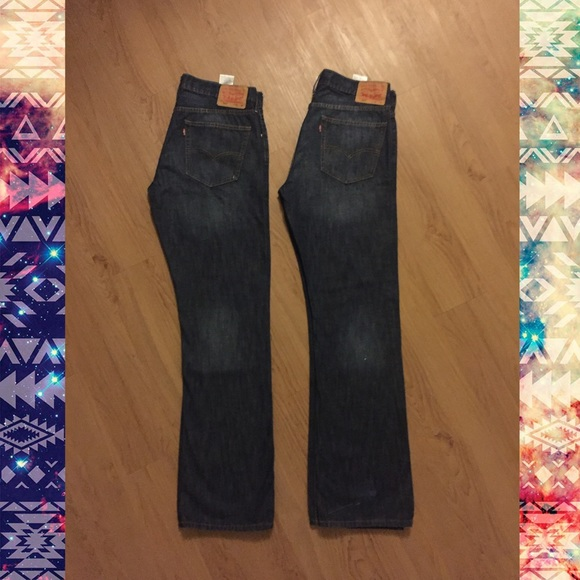 e60550be56d Levi's 527 Slim Boot Cut Jeans (Both pairs)