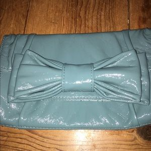 Turquoise clutch