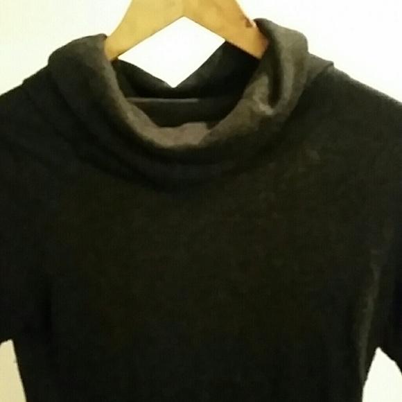 51% off Bloomingdale's Sweaters - Bloomingdales Charcoal Grey Cowl ...