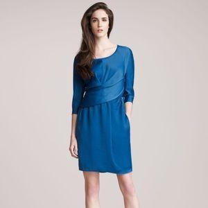 Carven Dresses & Skirts - Carven Draped Satin Dress