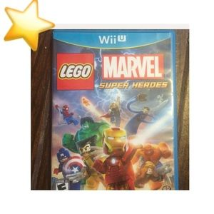 GOLD STAR SALE⭐️ WII U Lego Super Heroes
