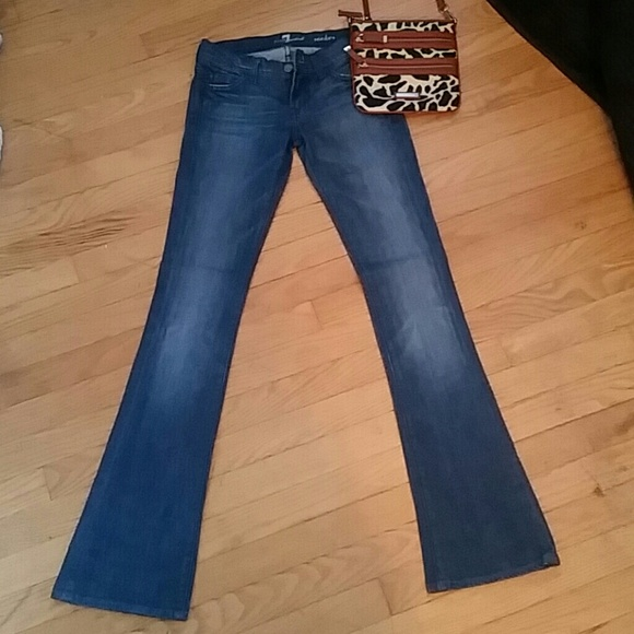 7 for all Mankind - 7 for all Mankind rocker jeans Size 24 NWOT ...