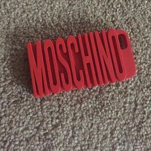 Moschino iPhone 5 case