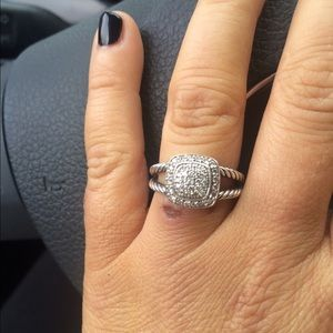  David Yurman  Diamond Pave Ring