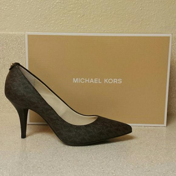 Michael Michael Kors MK-Flex Mid Pump Noir RtkNqgr
