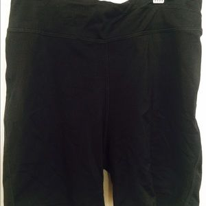 Pants - Black bike shorts