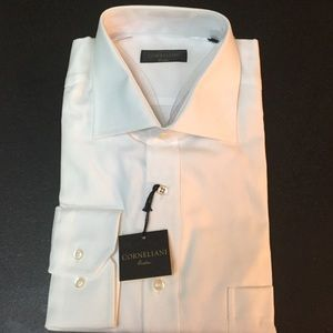 Corneliani Other - White Men's button down size 17 made in Italy