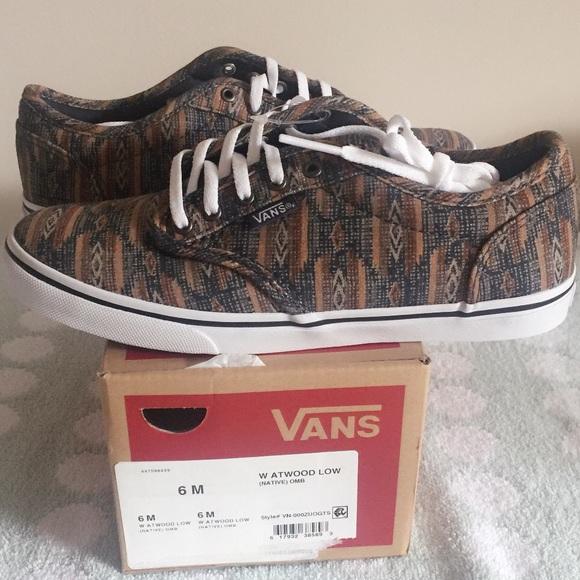 vans womens shoes size 6