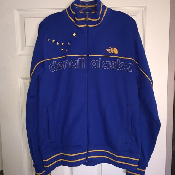 5e2ffd36d6fc Blue Yellow Denali Alaska Men s Large Jacket. M 5650b36bf739bc07fa0019e0